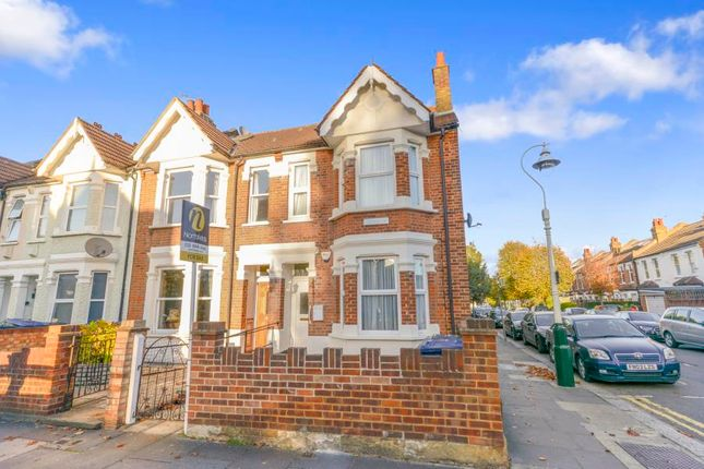 Thumbnail End terrace house for sale in Northcroft Road, London