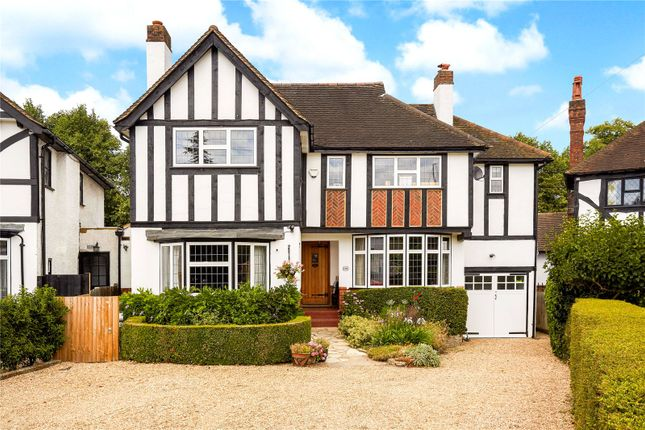 Thumbnail Detached house for sale in Woodcote Close, Epsom, Surrey