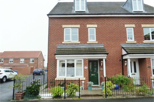 Thumbnail Town house for sale in Roxburgh Close, Seaton Delaval, Whitley Bay, Northumberland