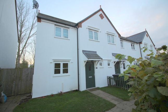 Thumbnail End terrace house for sale in Old School Green, Mattishall, Dereham