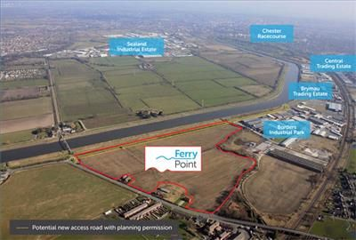 Thumbnail Land for sale in Ferry Point, Saltney Ferry Road, Saltney