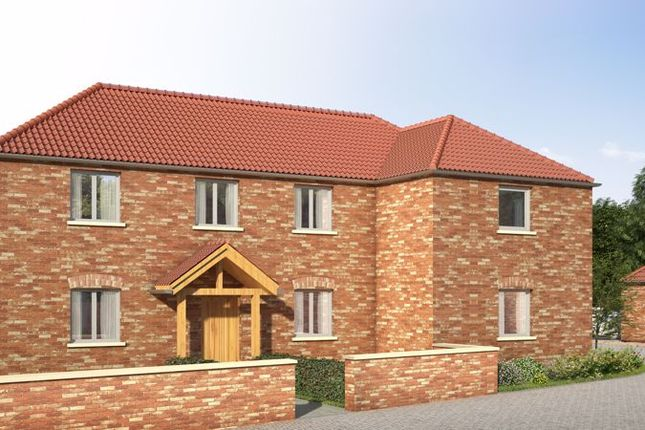 Thumbnail Detached house for sale in Plot 6, Plum Tree Rise, North Leverton, Retford