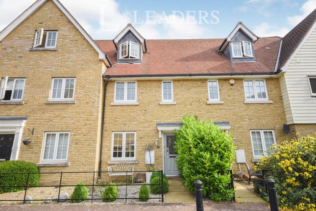 Thumbnail Terraced house to rent in Cambie Crescent, Colchester, Essex