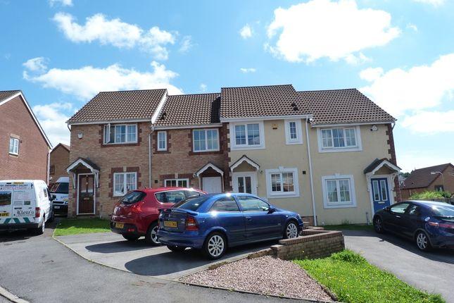 Thumbnail Terraced house to rent in Clos Ysgallen, Swansea