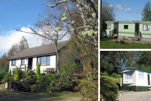 Thumbnail Leisure/hospitality for sale in Dalilea Holiday Caravans And Owners Bungalow, Acharacle, Argyll