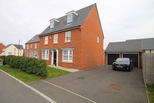 Thumbnail Detached house for sale in Brunswick Close, Great Sankey, Warrington