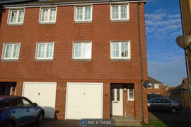 Thumbnail End terrace house to rent in Macquarie Quay, Eastbourne