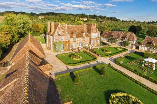 Thumbnail Detached house for sale in Mansion On A Hill, Saint-Julien-Le-Faucon, Normandy