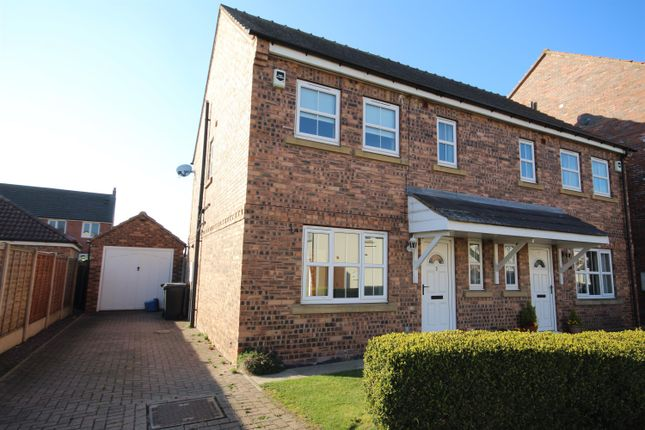 Thumbnail Semi-detached house to rent in Fieldside Court, Tadcaster, North Yorkshire