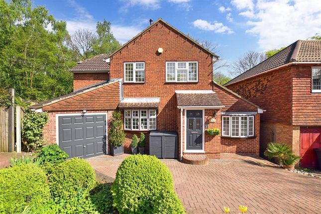 Thumbnail Detached house for sale in Papion Grove, Walderslade Woods, Chatham, Kent