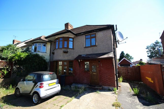 Thumbnail Semi-detached house for sale in Harlington Road East, Feltham, Middlesex