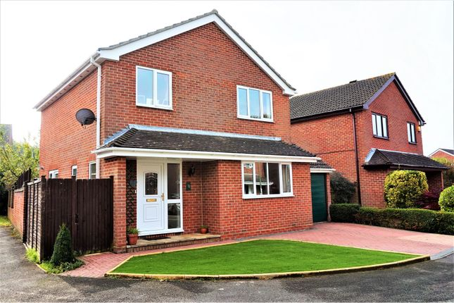 Thumbnail Detached house for sale in Shepherds Purse Close, Locks Heath