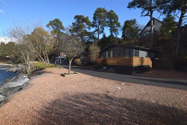 Thumbnail Lodge for sale in Tailrace Lodge, Parc Royale, River Tilt Leisure Park, Blair Atholl