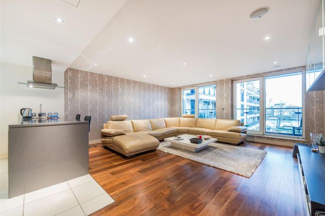 Thumbnail Flat to rent in Mahogany House, Imperial Wharf, Lensbury Avenue, Fulham, London
