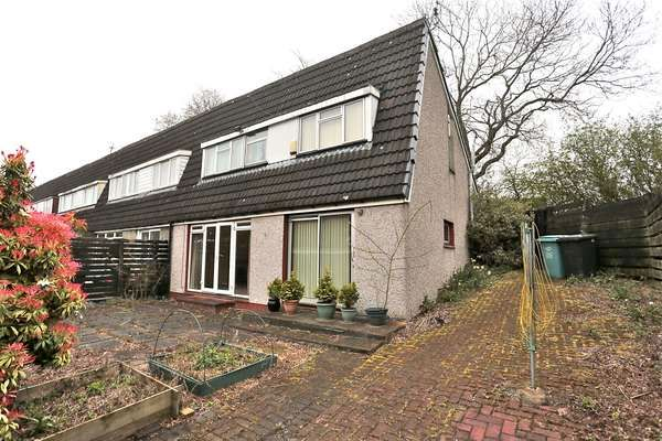 Thumbnail End terrace house for sale in 99 Mcgregor Road, Cumbernauld, Glasgow