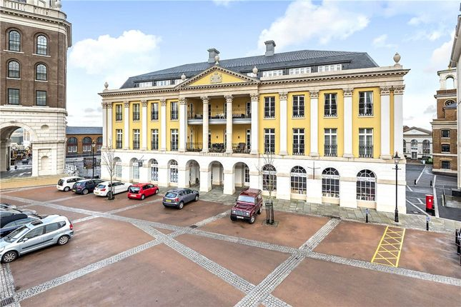 Thumbnail Flat for sale in Strathmore House, Queen Mother Square, Poundbury, Dorchester