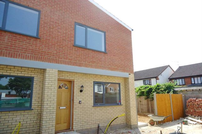Thumbnail Semi-detached house to rent in Farnburn Avenue, Slough