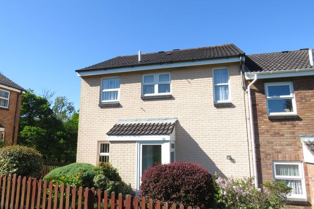 3 Bed End Terrace House For Sale In Lower Park Drive, Plymstock, Plymouth