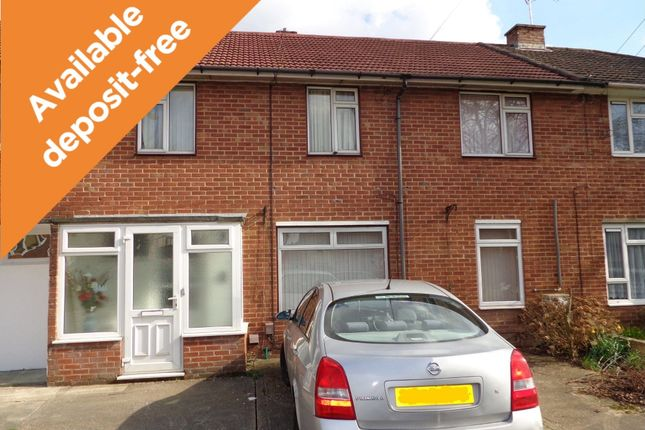Thumbnail Terraced house to rent in Peak Close, Southampton