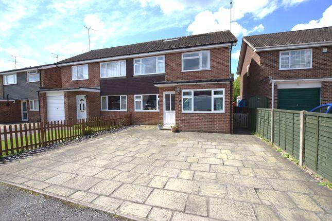 Thumbnail Semi-detached house for sale in Oaklea, Ash Vale