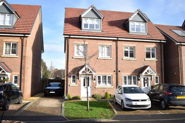 3 bed semi-detached house to rent in Winter Close, Epsom KT17