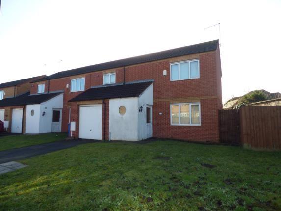 Thumbnail End terrace house for sale in Shelton Gate Close, Shelton Lock, Derby, Derbyshire