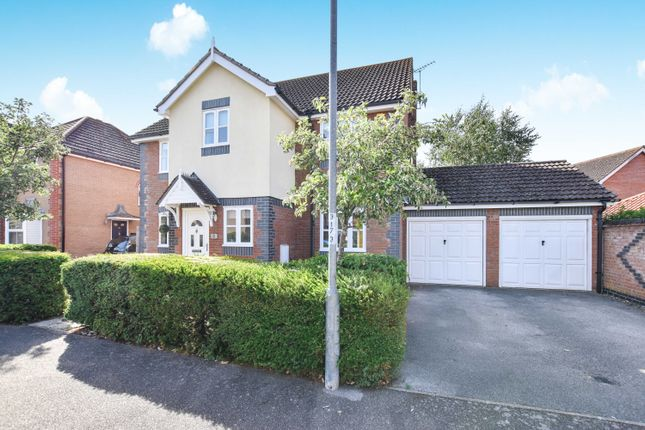 Thumbnail Detached house for sale in Nightingale Way, Thetford, Norfolk