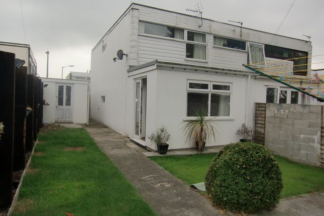 Thumbnail End terrace house to rent in Trevean Close, Camborne, Cornwall