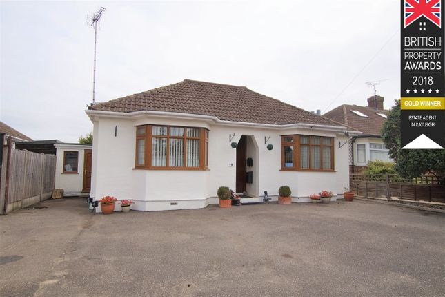 Thumbnail Detached bungalow for sale in Bideford Close, Westcliff-On-Sea