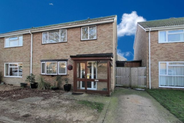 Thumbnail Semi-detached house for sale in Welland Drive, Newport Pagnell