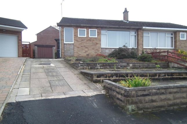 Thumbnail Semi-detached bungalow to rent in Wrenbury Crescent, Leeds