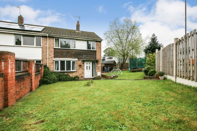 Thumbnail Semi-detached house for sale in Whittington Hill, Old Whittington, Chesterfield, Derbyshire
