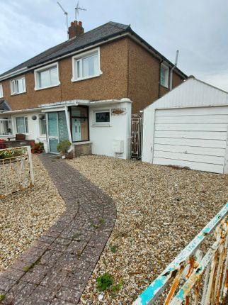 Thumbnail Semi-detached house for sale in 5, Dyffryn Place, Barry
