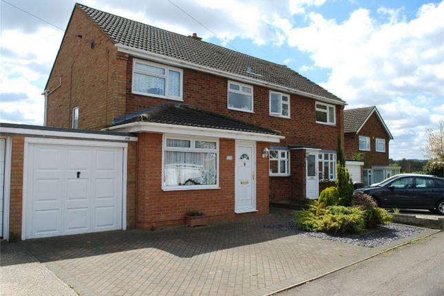 Thumbnail Semi-detached house for sale in Swinburne Avenue, Hitchin, Hertfordshire