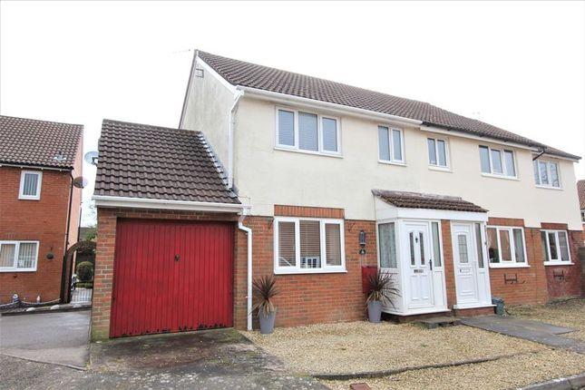 Thumbnail Semi-detached house for sale in Church Meadow, Boverton, Llantwit Major