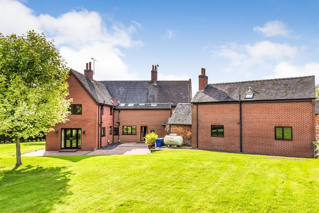 Thumbnail Detached house for sale in Dodsleigh, Leigh, Stoke-On-Trent