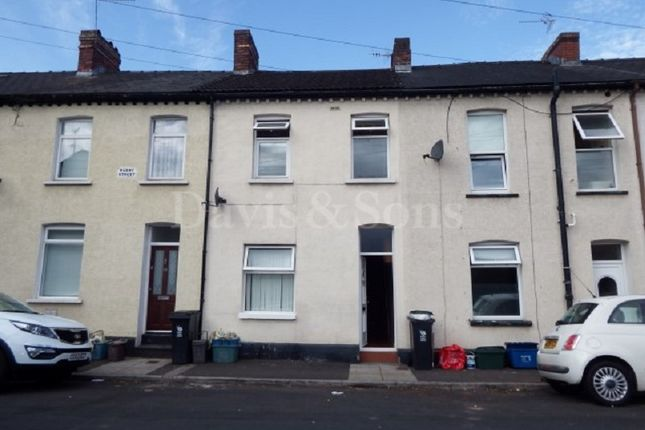 Thumbnail Terraced house for sale in Rudry Street, Newport, Gwent.