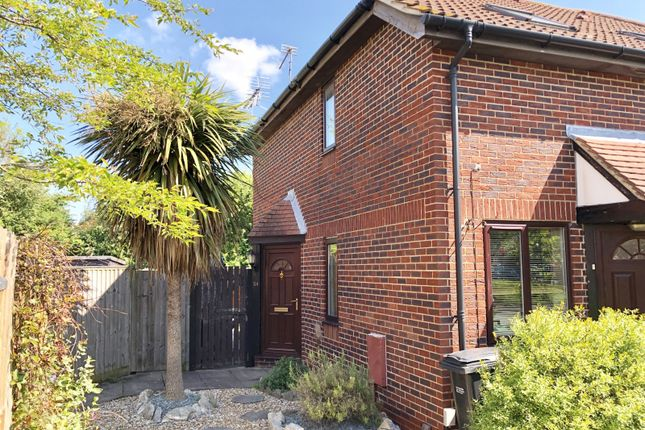Thumbnail 1 bed end terrace house for sale in Pebble Drive, Didcot