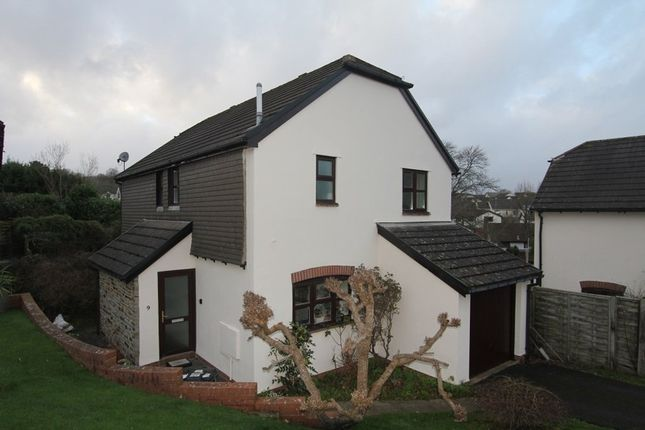 Thumbnail Detached house for sale in Larksmead Way, Ogwell, Newton Abbot