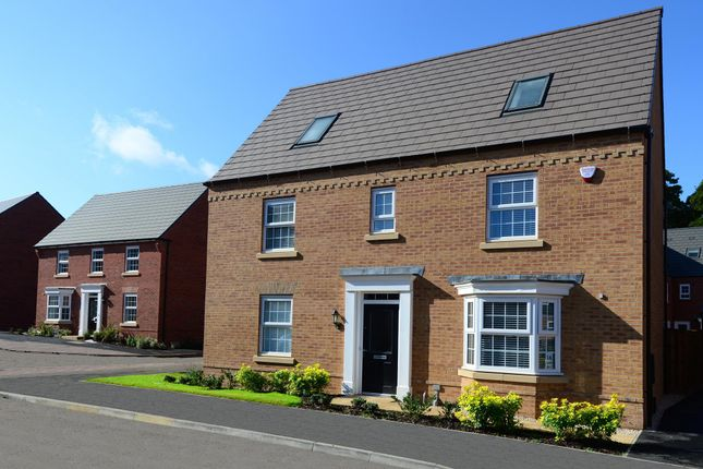 "Thumbnail Detached house for sale in ""Moorecroft"" at Main Road, Earls Barton, Northampton"