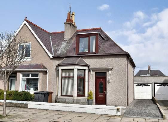 Thumbnail Semi-detached house for sale in Annfield Terrace, Aberdeen