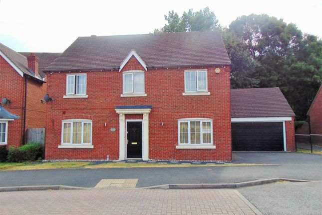 Thumbnail Detached house to rent in Harvest Fields Way, Sutton Coldfield