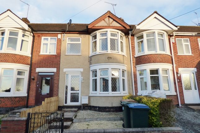Thumbnail Terraced house to rent in St. Ives Road, Coventry