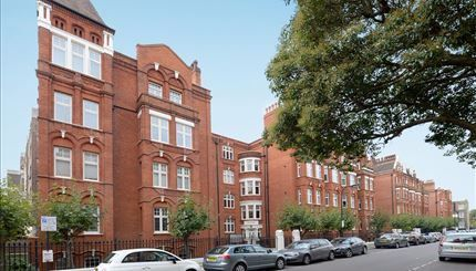 Thumbnail Flat to rent in Hamlet Gardens, Hammersmith