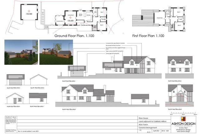 5 bed detached house for sale in Building Plot, Milton, Brampton CA8