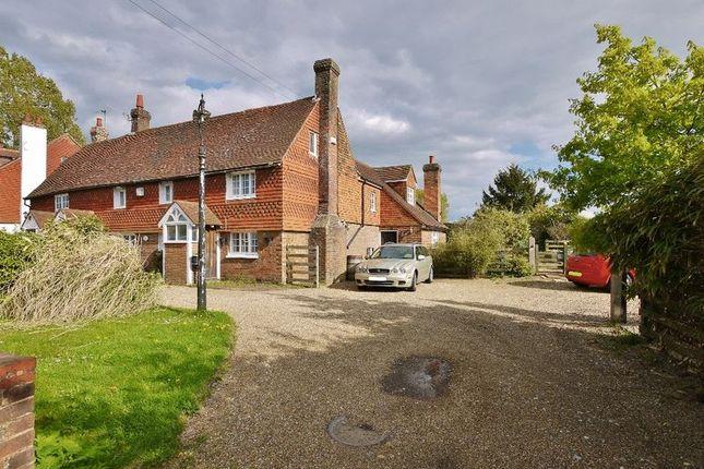 Thumbnail End terrace house for sale in Maidstone Road, Pembury, Tunbridge Wells