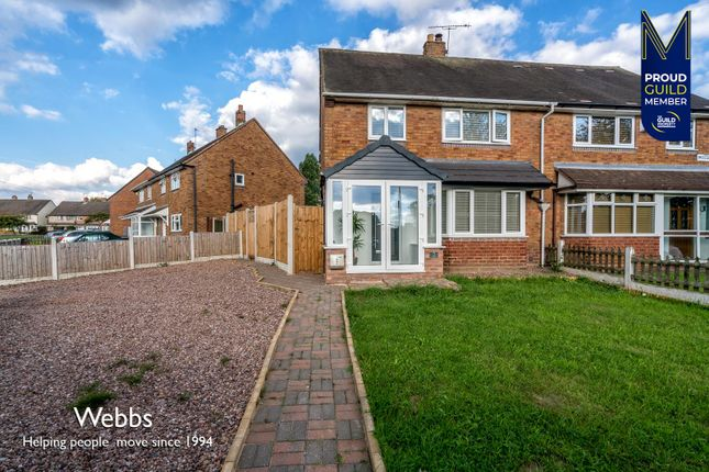 3 bed semi-detached house for sale in Tintern Crescent, Bloxwich, Walsall WS3