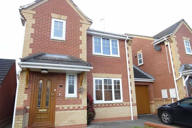 Link-detached house for sale in Hunters Row, Portland Street, Cosby, Leicester
