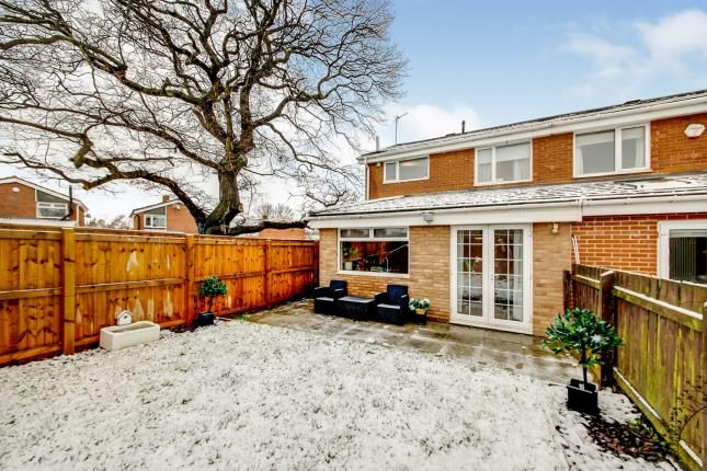 Thumbnail Semi-detached house for sale in Ludlow Court, Kingston Park, Newcastle Upon Tyne, Tyne And Wear