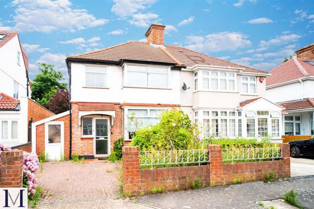 Thumbnail Semi-detached house for sale in Orchard Avenue, Heston, Hounslow